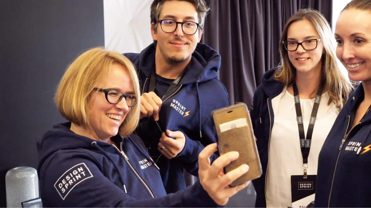 Design Sprint Ltd - Steph Cruchon, Egle Cruchon and Sabrina Goerlich